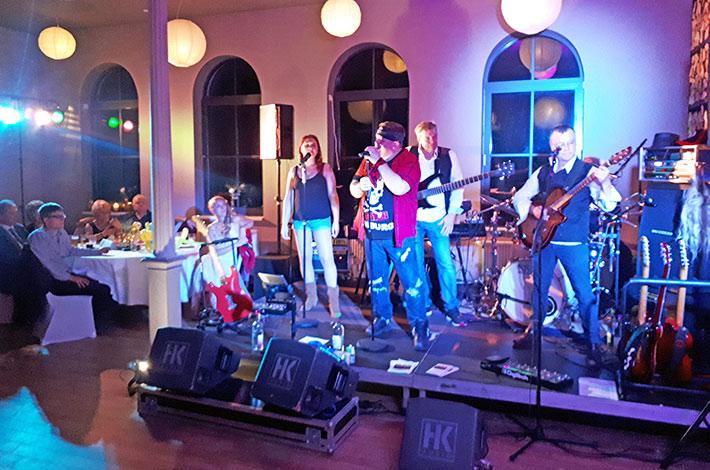 Eventlocation Alter Bahnhof Bad Segeberg Geburtstag Liveband