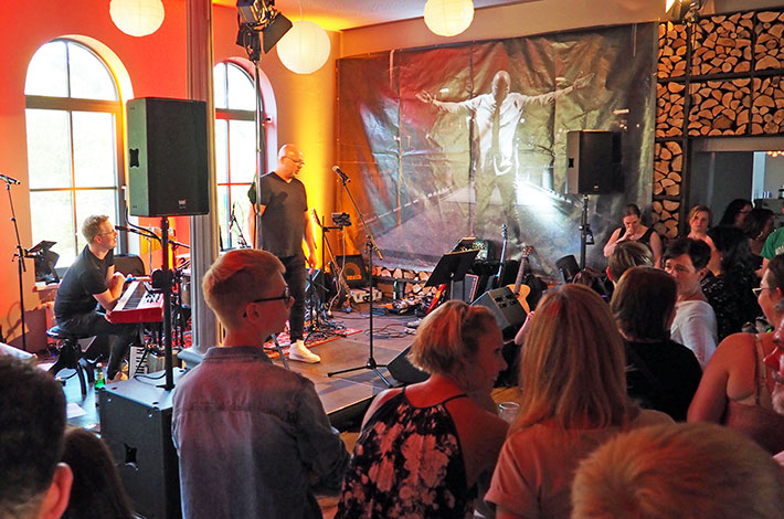 Eventlocation Alter Bahnhof Bad Segeberg Konzert Album-Release-Party